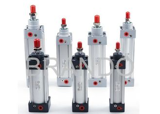 Bore Diameter 32 40 50 Pneumatic Air Cylinders With High Temperature Resistant Seal Material