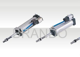 China Two Side Adjustable Cushion Double Action Air Cylinder 0.15 - 0.9 MPa Working Pressure supplier