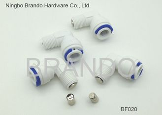 Elbow Plastic Water ChecK Valve Reverse Osmosis Parts , ro system parts