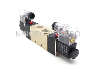 "China 3/8"" Port Size Pneumatic Cylinder Valve Double head Double position Close Type supplier"