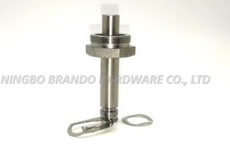 Thread Connection Solenoid Stem Stainless Steel Pentagon Seat With Interior Spring