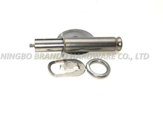 Assembled Silvery White Solenoid Stem 2 / 2 Way Special Shape Movable Core