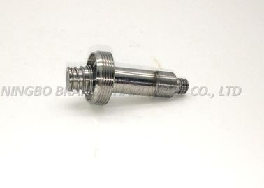 OD 11.0mm Plunger Tube 2 / 2 Way With Flange Seat / Silvery Cylindrical Core
