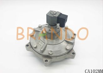 4 Inch Electromagnetic Pulse Valve / Cylinder Solenoid Valve Medium Working Pressure