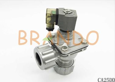 Threaded Ports Pneumatic Diaphragm Valve 1 Inch DD For Dust Collector