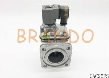 FS Series Flanged Pulse Valve CAC25FS with Grey Color Coil Double 1 inch Diaphragms