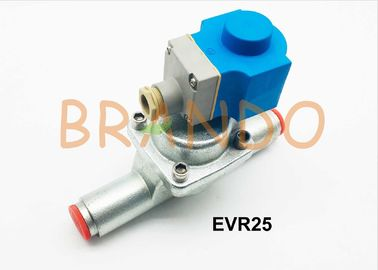 Ammonia EVR25 Series Solenoid Valve In Refrigeration System 28-35mm Connection Size