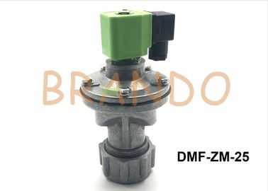 Right Angle Aluminum Pneumatic Pulse Valve With NBR Diaphragm DMF-ZM-25