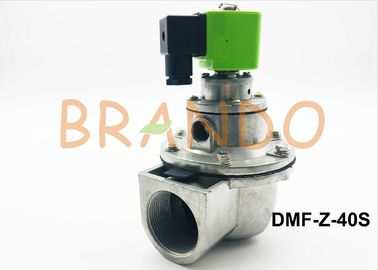 China 24V DC Green Color Coil DMF Pneumatic Pulse Valve DMF-Z-40S made of ADC12 Aluminium supplier