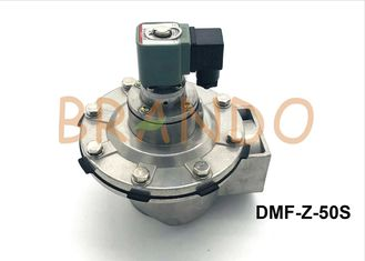 Aluminum Pneumatic Solenoid Pulse Valve 2 Inch Port Size For Dust Removal