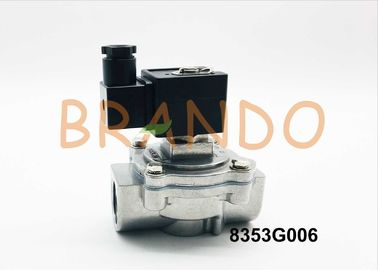 1 Inch Solenoid Pulse Valve 8353G006 in Dust Collector System Inlet and Outlet Degrees for 180°