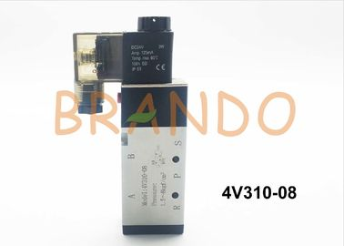 1/4'' 4V300 Series for electrically driven pneumatic power control 4V310-08 made of Aluminum Alloy