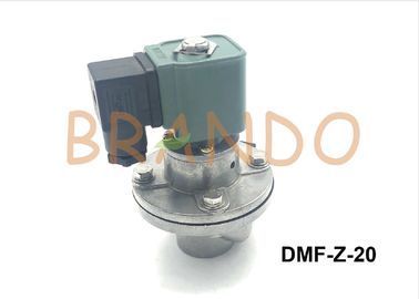 Right Angle G3/4'' Pulse Jet Valve / Aluminum Alloy Pneumatic Control Valve DMF-Z-20