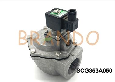 Alloy Integral Pilot Solenoid Pulse Jet Valves SCG353A050 Normal Close 2 Inch