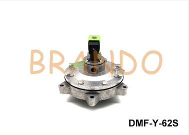 DN65 DMF-Y-62S Pneumatic Pulse Diaphragm Valve For Dedusting System In Cast House