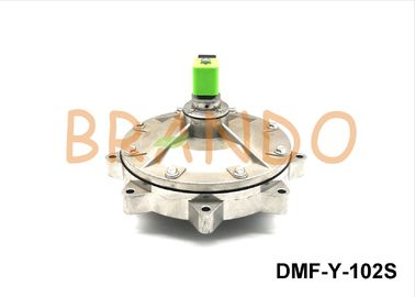 DN100 DMF-Y-102S Pulse Jet Valves Dust Filtering System Spare Parts Aluminum Body