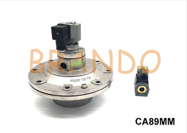 Embedded Pneumatic Dust Filter pulse jet valves 24 Voltage DC G3'' CA89MM