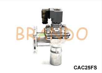 Flanged Right Angle Pneumatic Pulse Valve 1'' CAC25FS For De - Dusting Baghouse