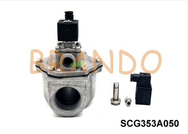 Right Angle Double Diaphragm Pneumatic Pulse Valve Jet Filter Part Solenoid Valve