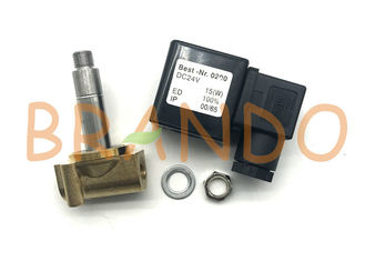 Viton Seal Brass Body Pneumatic Solenoid Valve 2W Series 2 Way DC24V UD-06H For Water / Steam