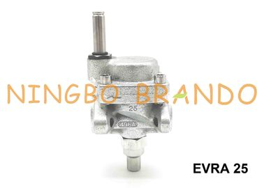 EVRA 25 Danfoss Type Servo Operated Ammonia Solenoid Valve Cast Iron Body Steel Flange