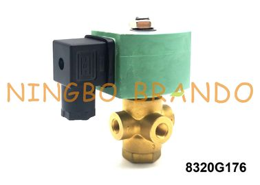 1/4'' 8320G176 3-Way Brass Normally Closed AC110V AC120V NT Series ASCO Type Solenoid Valve