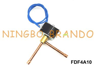 FDF4A10 Dehumidifier Refrigeration Solenoid Valve 1/4'' 6.35mm OD AC220V Normally Closed