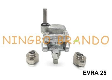 032F6225 032F803432 EVRA 25 Danfoss Type Servo Piston Operated Flange Solenoid Valve For Ammonia