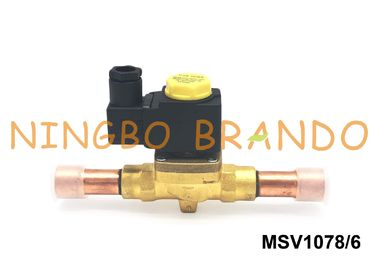 "3/4"" ODF 1078/6 CASTEL Type Diaphragm Pilot Operated Solenoid Valve 220/230V 50/60Hz"