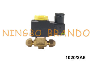 "1/4"" SAE Flare Castel Type Solenoid Valve 1020/2A6 220/230VAC 1020/2A7 240VAC 1020/2S"