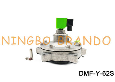 2 - 1/2 Inch Submerged BFEC Type Pneumatic Pulse Valve DMF-Y-62S With ADC12 Aluminum Body