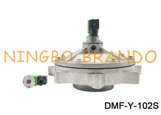 4 Inch Aluminum Diaphragm Pneumatic Pulse Valve DMF-Y-102S Full Immerse Dust Collector DC24V AC110V AC220V