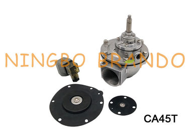 "CA45T Right Angle 1-1/2"" Pneumtic Pulse Valve With Aluminum Alloy Body For Dust Cleaning System"