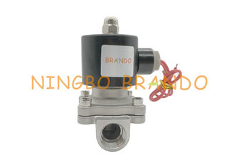 "Electric Solenoid Valve 2S160-15 G1/2"" Normally Closed Stainless Steel Electric Solenoid Valve For Water Air"