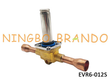 032L1209 EVR6-012S Servo Operated Solenoid Valves For Air Conditioning Systems Without Coil