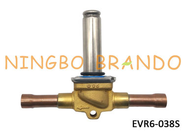 "032L1212 s Type EVR6 3/8"" Refrigeration Solenoid Valve For Air Conditioner ODF Solder Brass Body Without Coil"