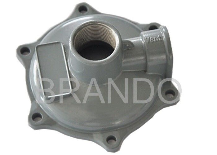 Powder Coated Aluminium Die Casting Parts , Custom Aluminum Casting Alloys