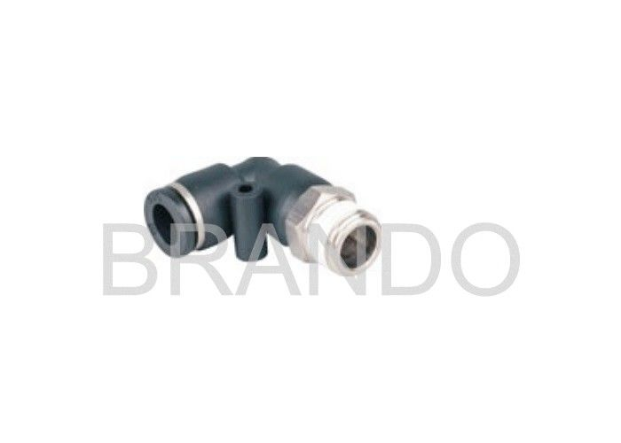 Fluid Pipeline Pneumatic Connectors Fittings Customized Thread PT1/8 ""