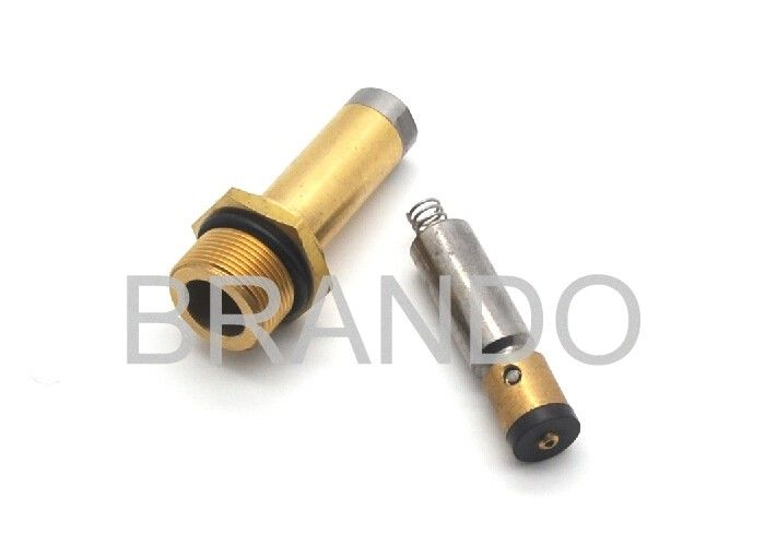 13mm Diameter Brass Tube Solenoid Stem For 12V DC / 24V DC CNG Cylinder Valve