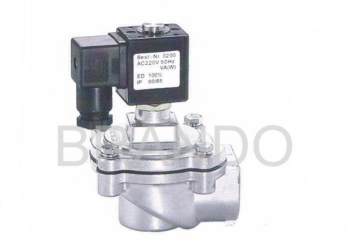 Economic 220V AC Dust Collector Solenoid Valve High Speed CE ISO Certification
