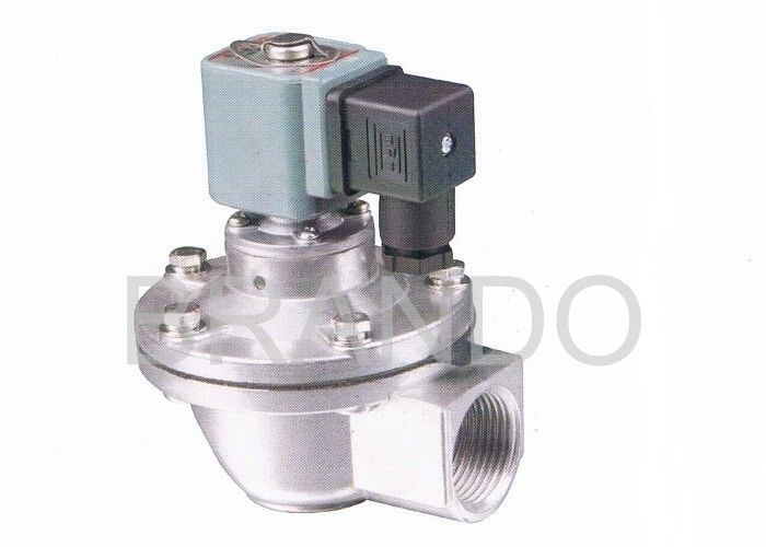 DMF-Z-25 Electric / Pneumatic Pulse Valve 110V AC 0.3 - 0.8Mpa Working Pressure