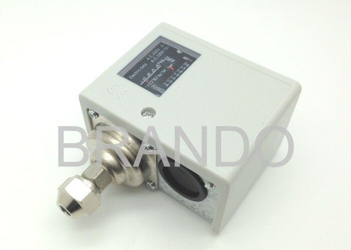 Refrigeration Compressor Start / Stop Industrial Pressure Switch CE ISO Certification