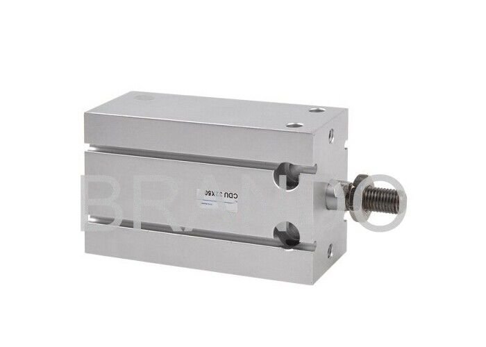Aluminum Alloy Double Acting Pneumatic Cylinders , Small Air Cylinders