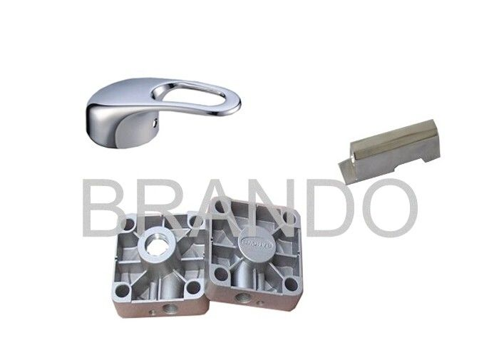 Chromed Plated Aluminum Die Casting Hardware Components For Pneumatic Industry