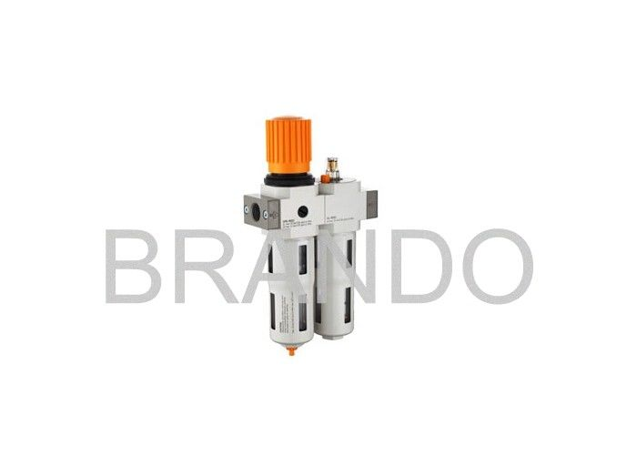 Professional Pneumatic Air Filter Regulator Oil Lubricator 90° +-5° Installation Position