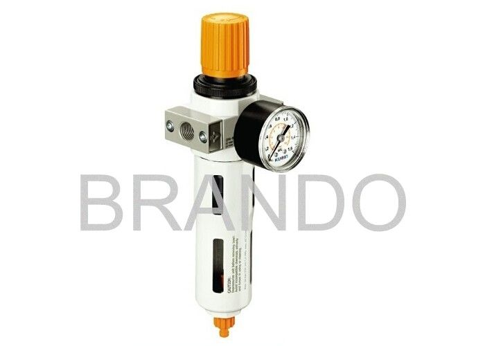 5μm Filtering Grade Frl Filter Regulator Lubricator For Compressed Air Pneumatic