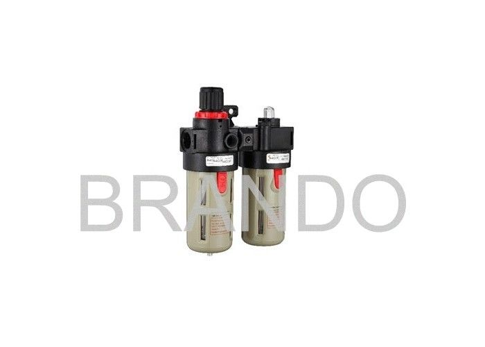 AFC / BFC Series Filter Regulator Lubricator FRL Combination For Air Treatment