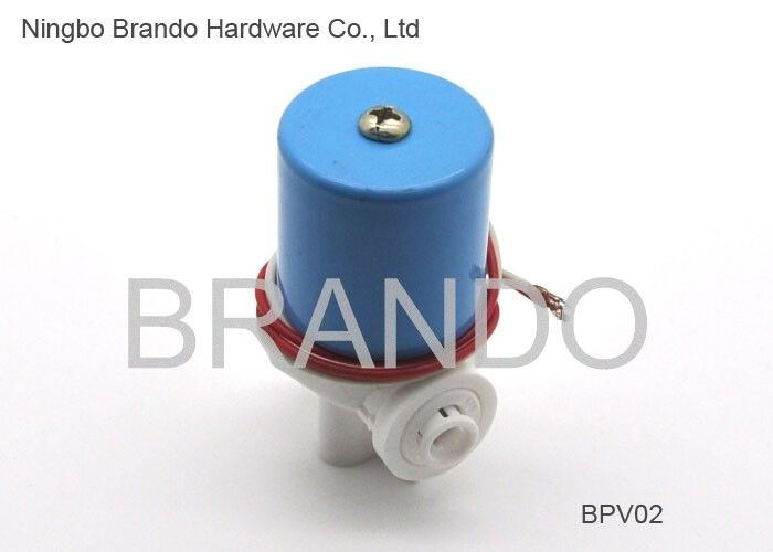 36V DC Feed Water Cylinder Blue Cap Quick Connector Solenoid Valve for RO System PARTS