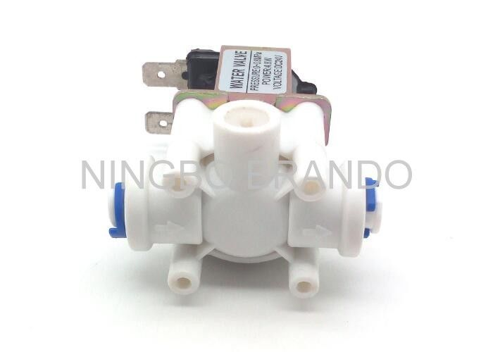 Wastewater Quick Connect Electromagnetic Solenoid Valve For RO Parts