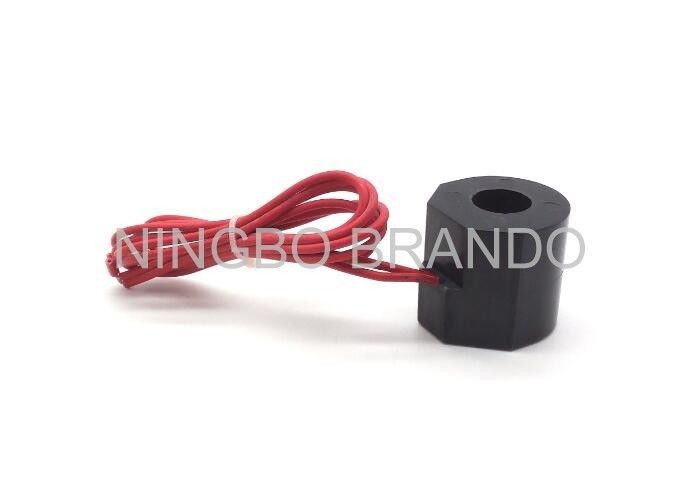 Red Flying Leads ac solenoid coil 20VA Normal Power Thermoplastic Core Material